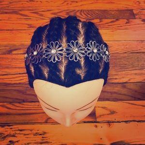Accessories - Flowered Metal Headband